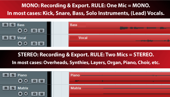 Mixing and Mastering - Synchronisation