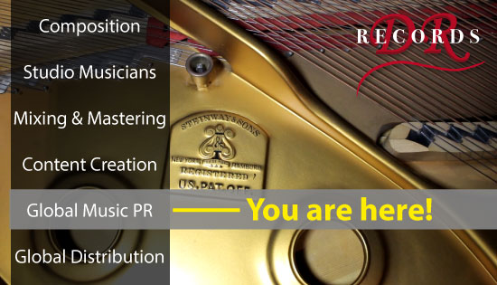 Music PR - You are Here