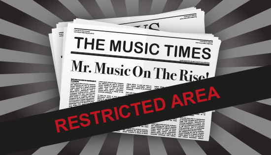 Music PR - Restricted Area
